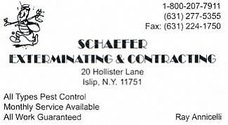 Pest Control: