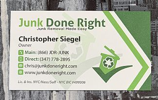 Junk Removal: