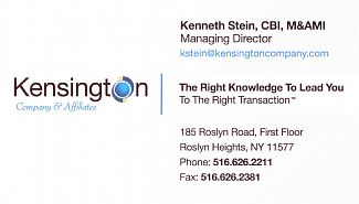 Business Broker / Franchise Sales: